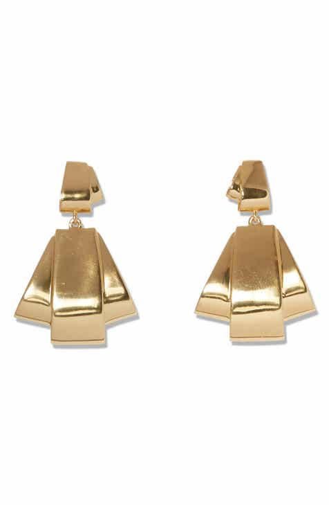Sole Society Double Drop Earrings