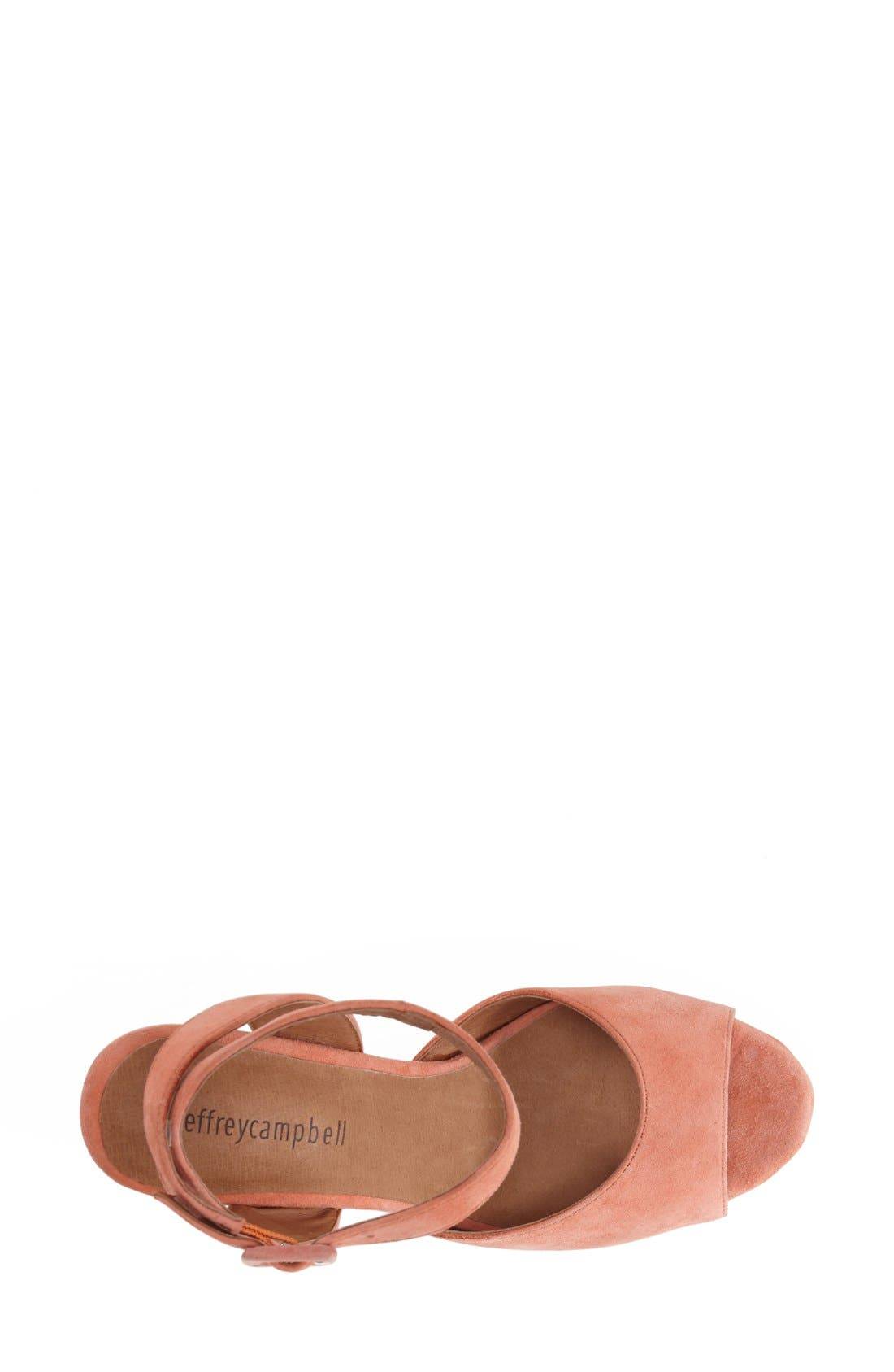 Alternate Image 3  - Jeffrey Campbell 'Sassy' Wood Platform Sandal (Women)