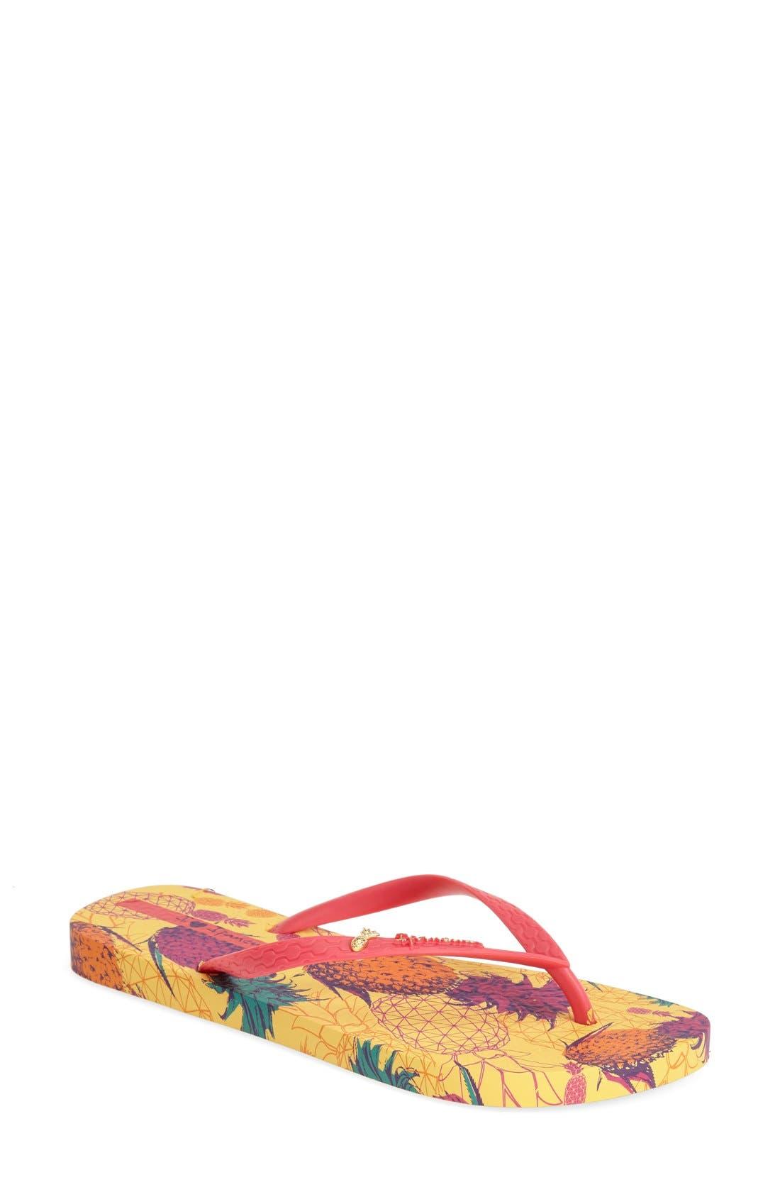 Alternate Image 1 Selected - Ipanema 'Piña' Flip Flop