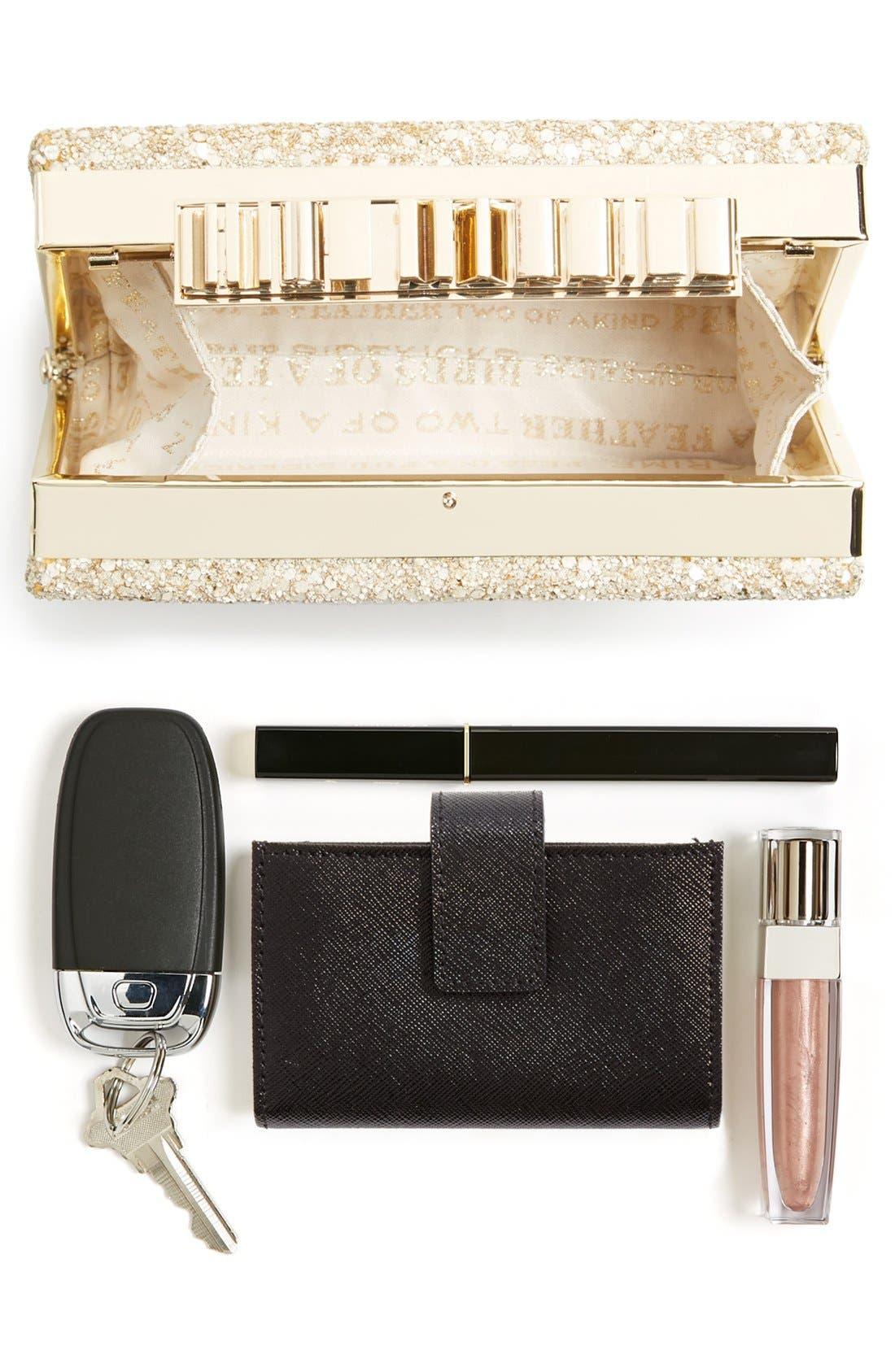 Alternate Image 7  - kate spade new york 'wedding belles - ravi' box clutch