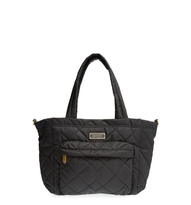 MARC BY MARC JACOBS ' Eliz-A-Baby' Quilted Diaper Bag | Nordstrom : black quilted diaper bag - Adamdwight.com