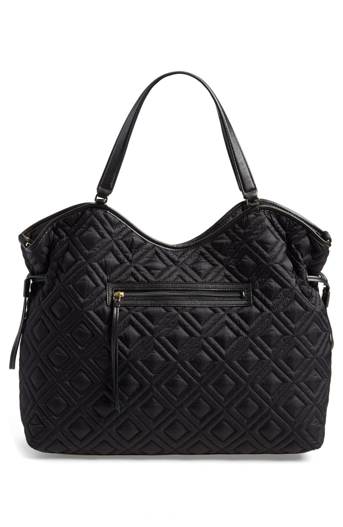 Alternate Image 3  - Tory Burch Quilted Slouchy Baby Bag