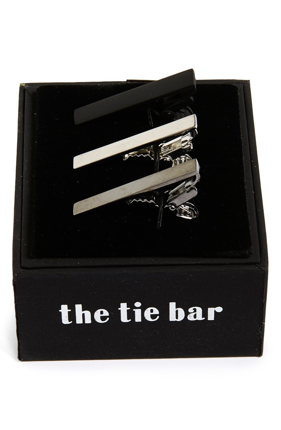 Main Image - The Tie Bar Brass Tie Bar (3-Pack)