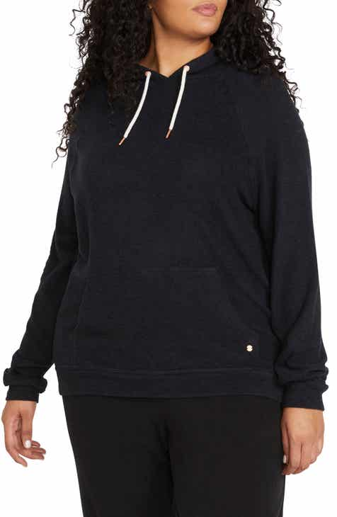 Volcom Lil Hooded Sweatshirt (Plus Size)