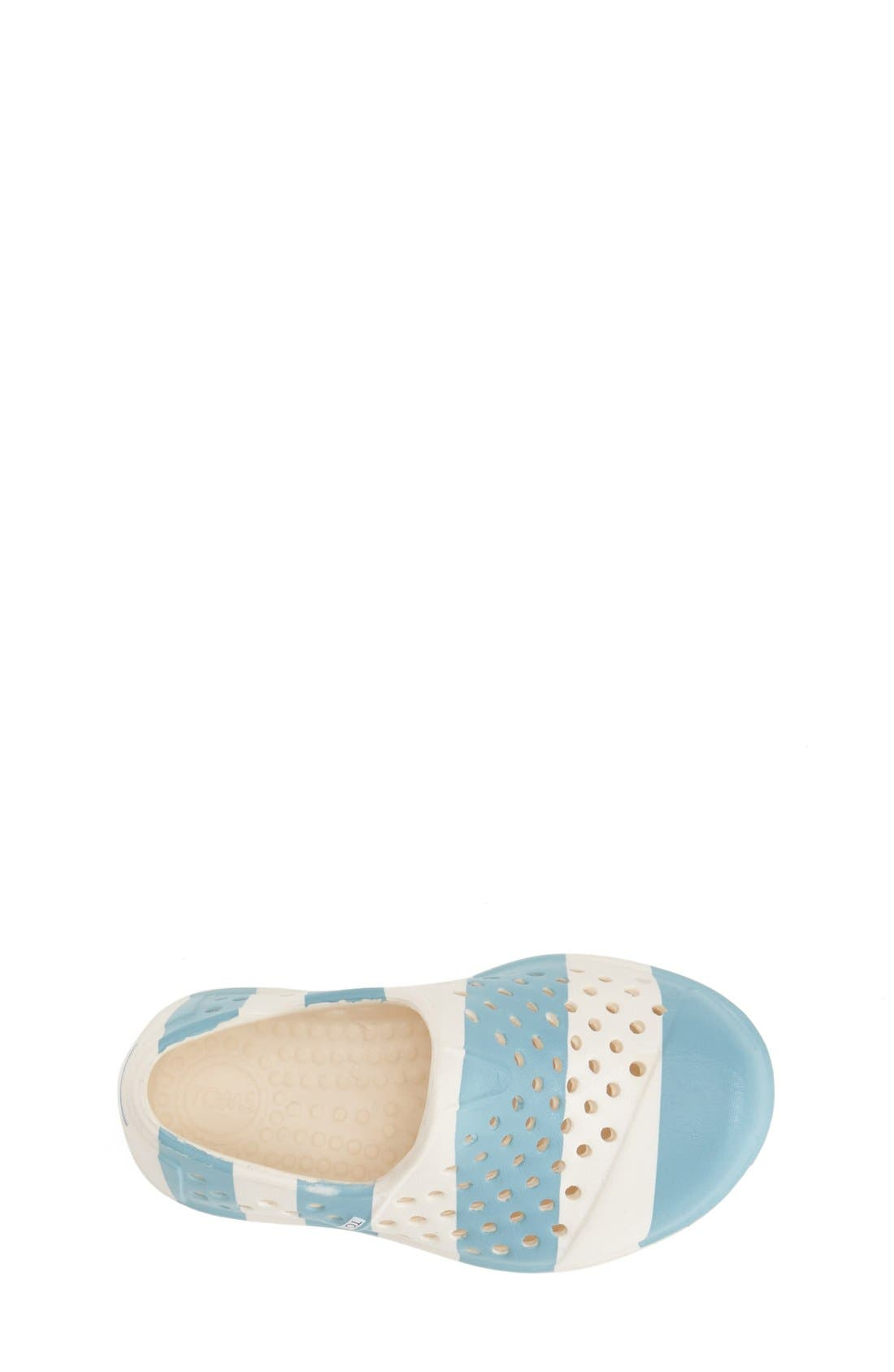 Alternate Image 3  - TOMS 'Romper - Tiny' Perforated Water Friendly Slip-On (Walker & Toddler)