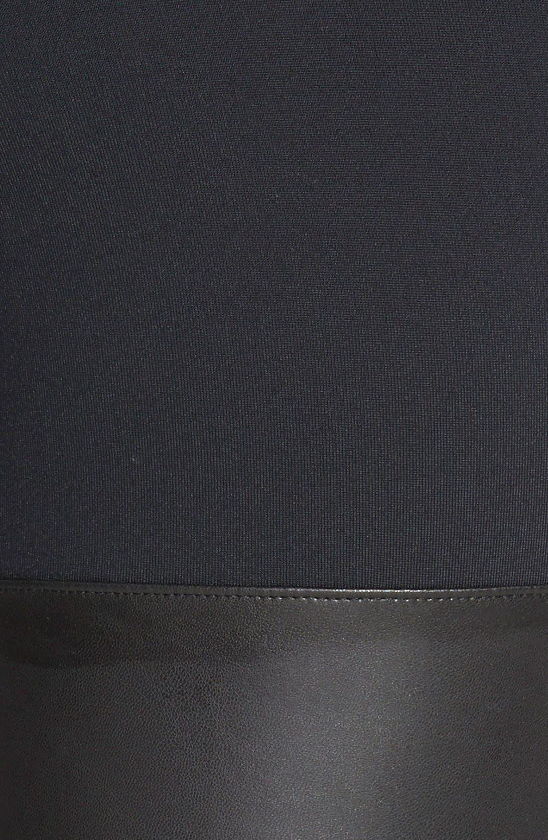 Alternate Image 3  - Leith Faux Leather Leggings