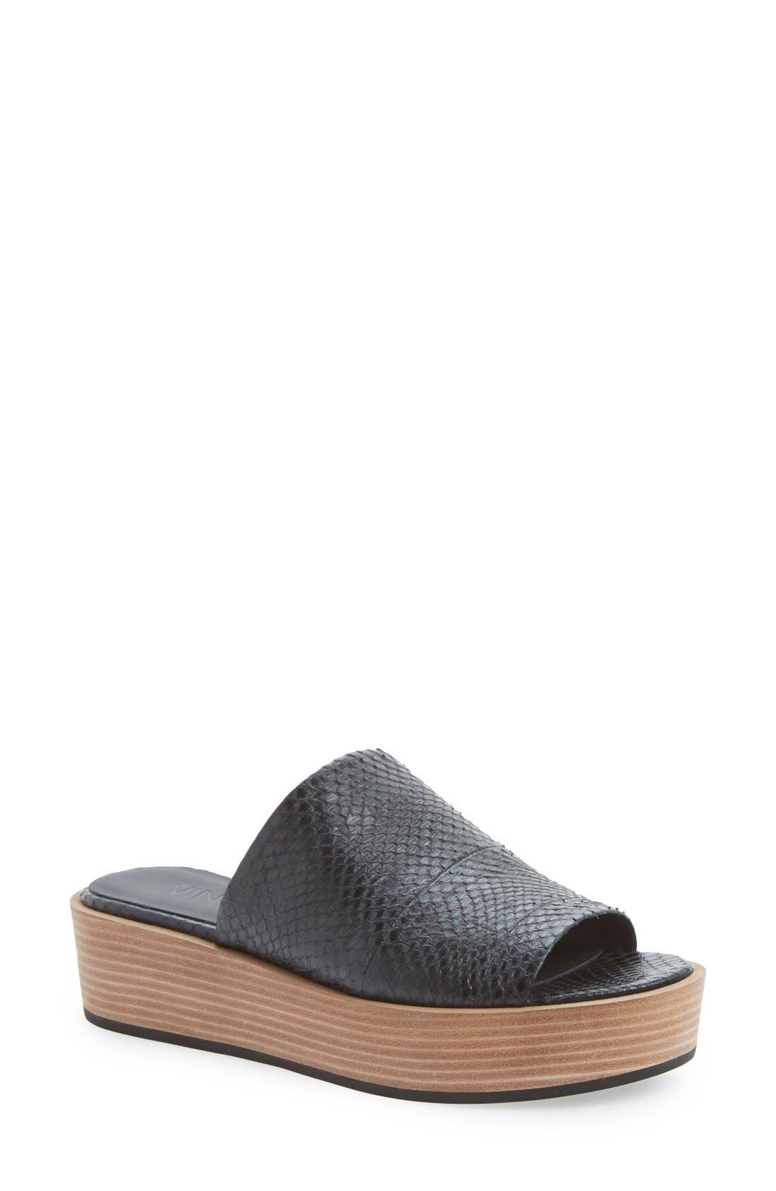Alternate Image 1 Selected - Vince 'Saskia 2' Platform Sandal (Women)