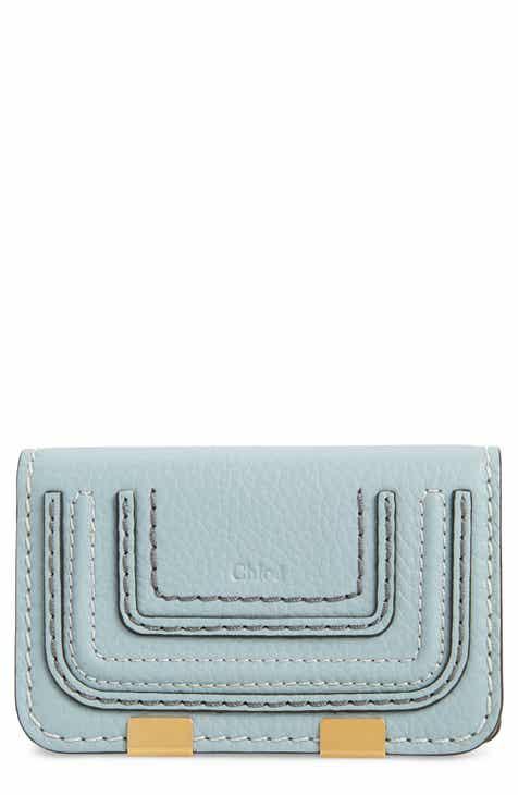 On Sale Chloé Marci Leather Flap Card Holder