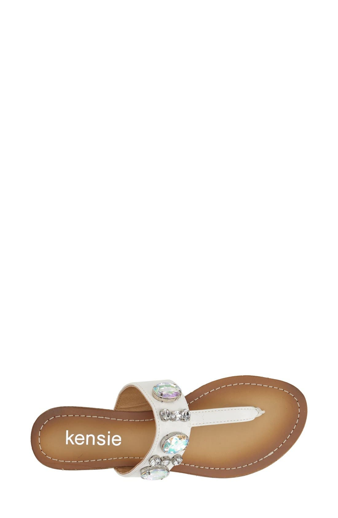 Alternate Image 3  - kensie 'Tatianly' Thong Sandal (Women)