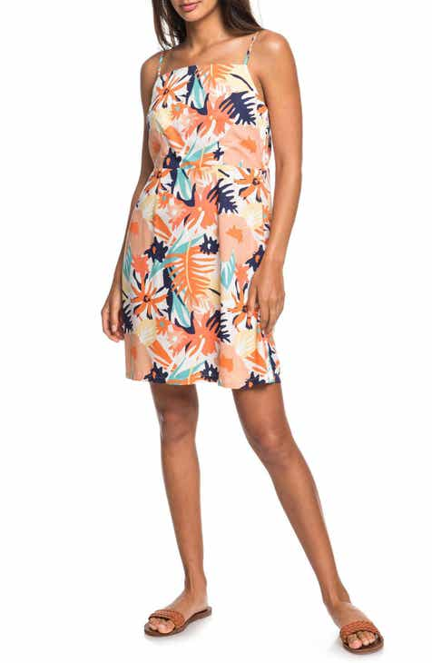 Roxy Sunny Weather Floral Minidress