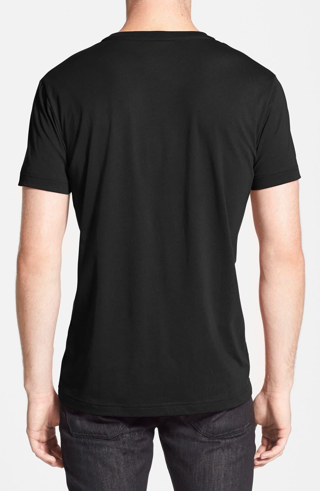 Alternate Image 2  - Lacoste Pima Cotton Jersey V-Neck T-Shirt