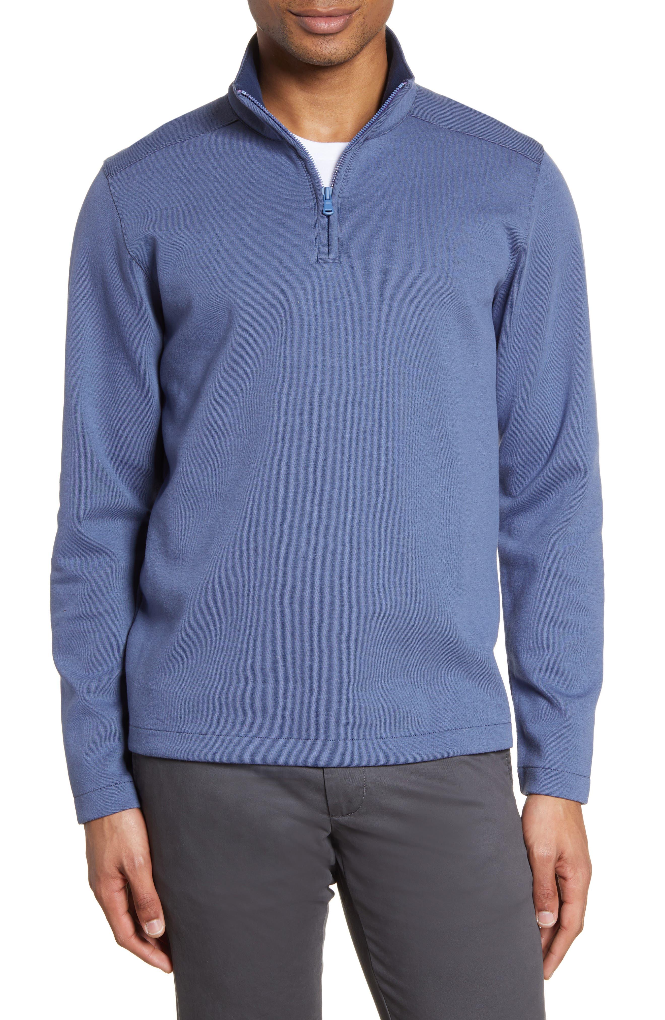 Mens Slim Fit HEATHER BLACK PURPLE DARK BLUE GREY MARL Hoodie Hooded Sweatshirt