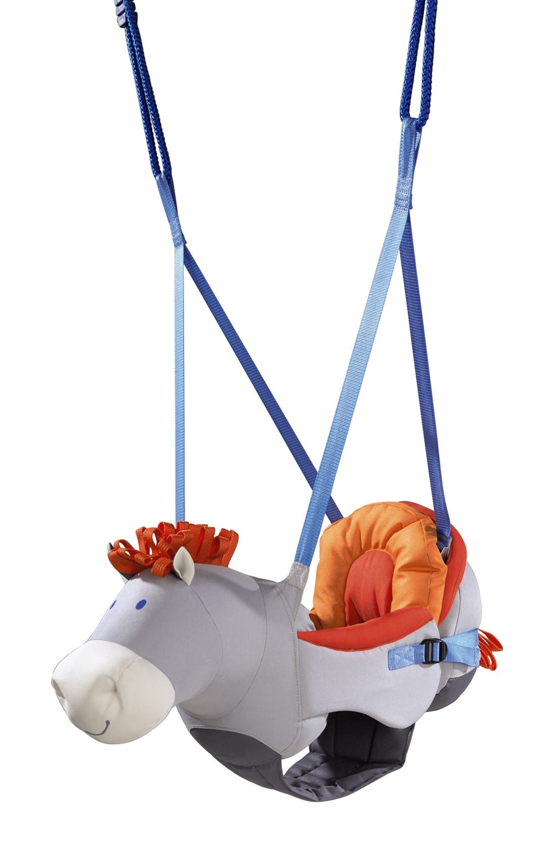 Horse Baby Swing,                         Main,                         color, White