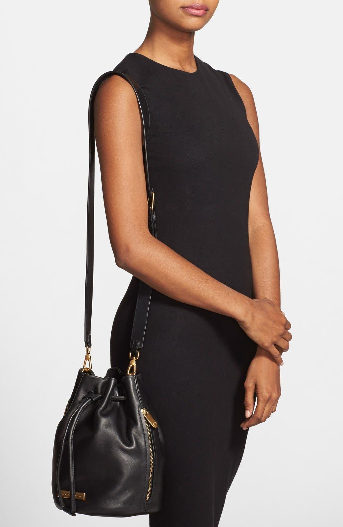 Alternate Image 2  - MARC BY MARC JACOBS 'Luna' Leather Drawstring Bucket Bag
