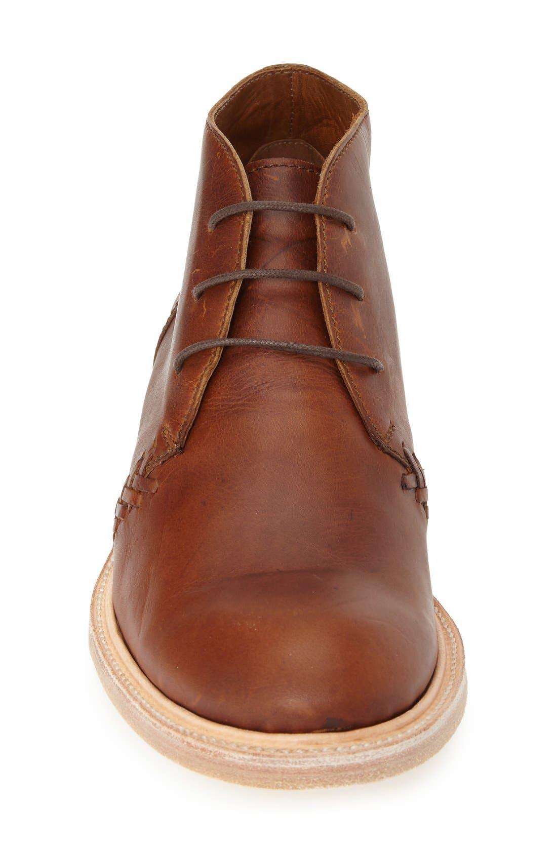 Boots 'Noris' Chukka Boot,                             Alternate thumbnail 3, color,                             Evolution Tan