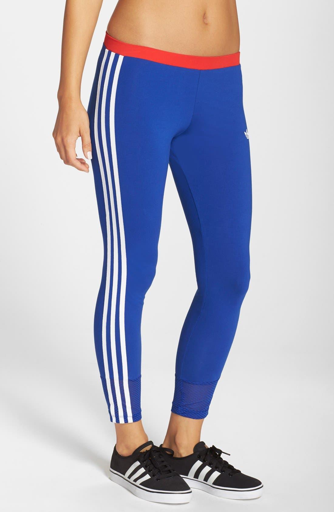 adidas originals 3 stripes leggings