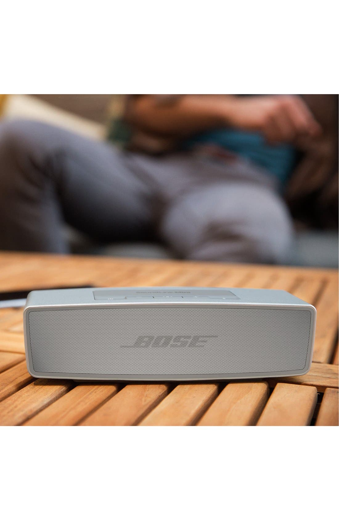 SoundLink<sup>®</sup> Mini II Bluetooth<sup>®</sup> Speaker,                             Alternate thumbnail 6, color,                             Pearl