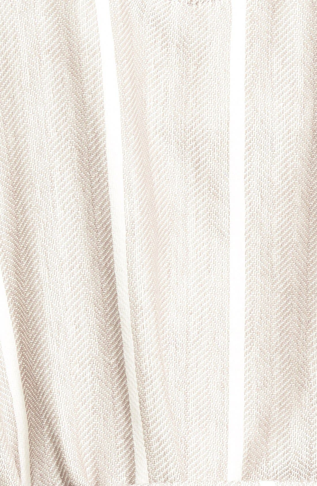 Alternate Image 3  - Majestic International 'Breakers' Herringbone Cotton Robe