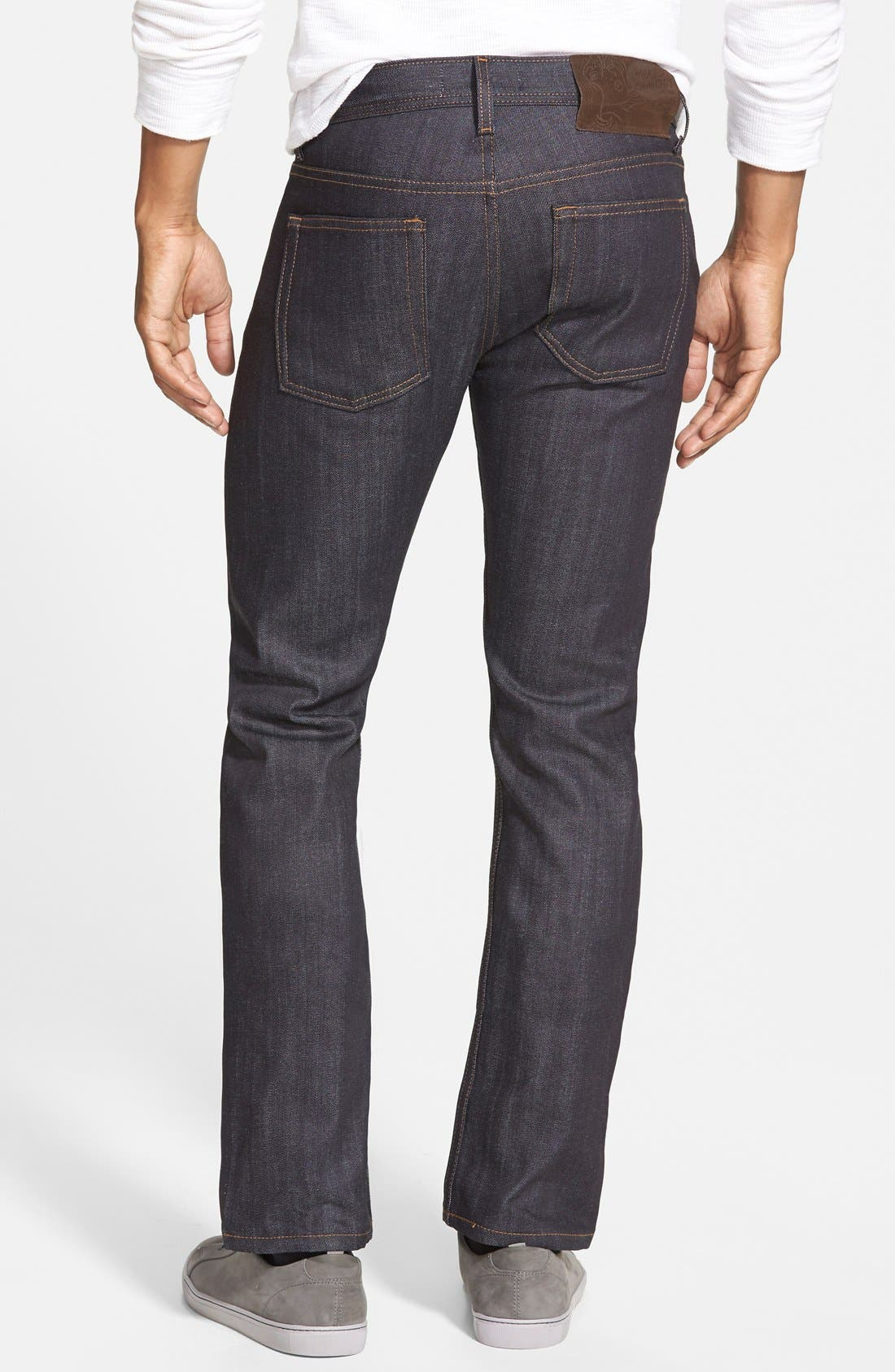 'Weird Guy' Slim Fit Jeans,                             Alternate thumbnail 2, color,                             Indigo