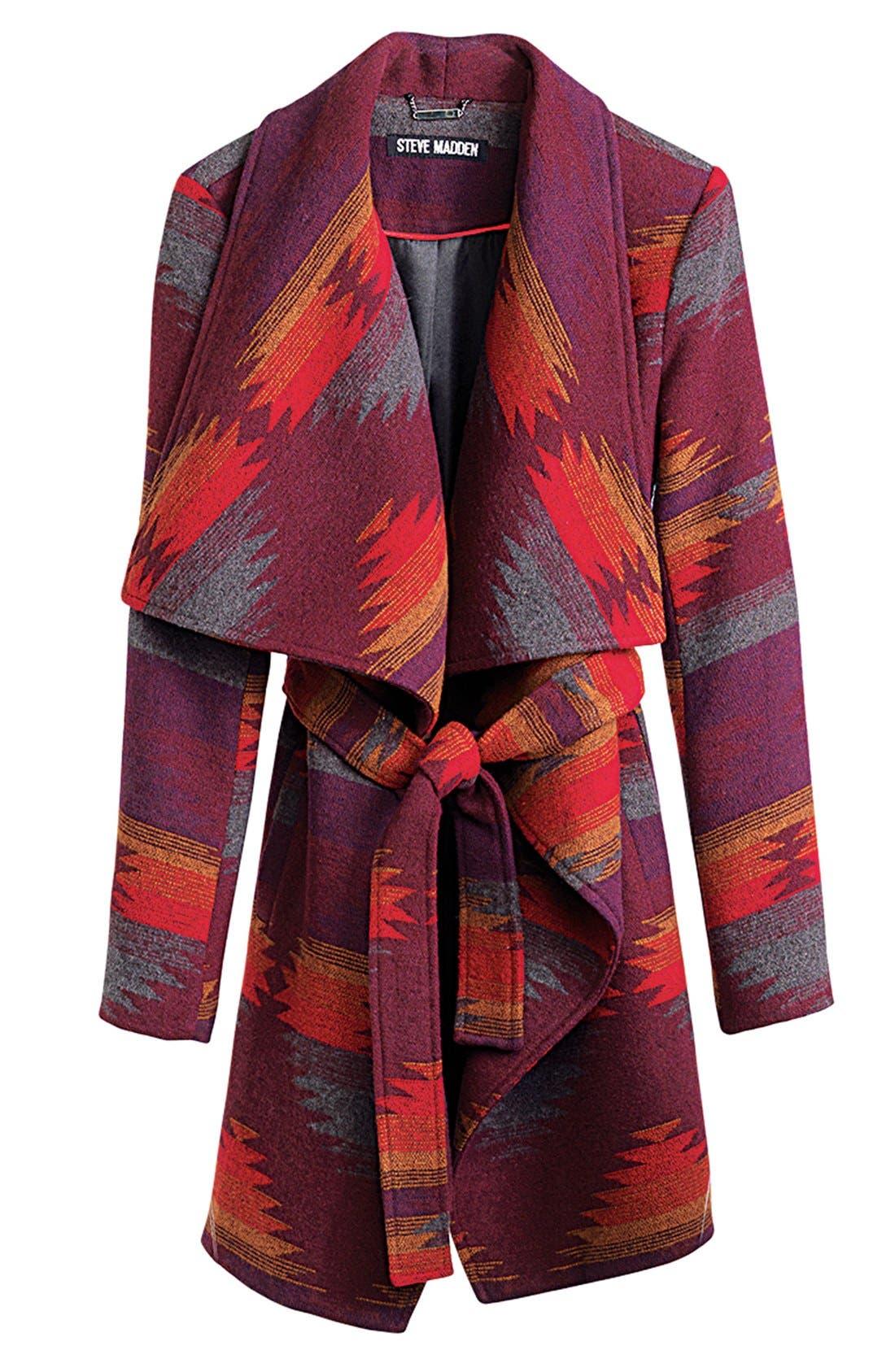 Alternate Image 5  - Steve Madden Blanket Wrap Coat