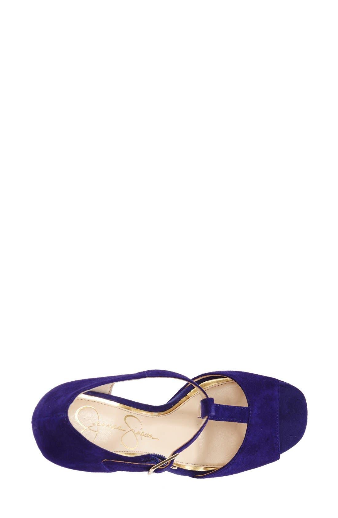Alternate Image 3  - Jessica Simpson 'Adelinah' T-Strap Platform Sandal (Women)