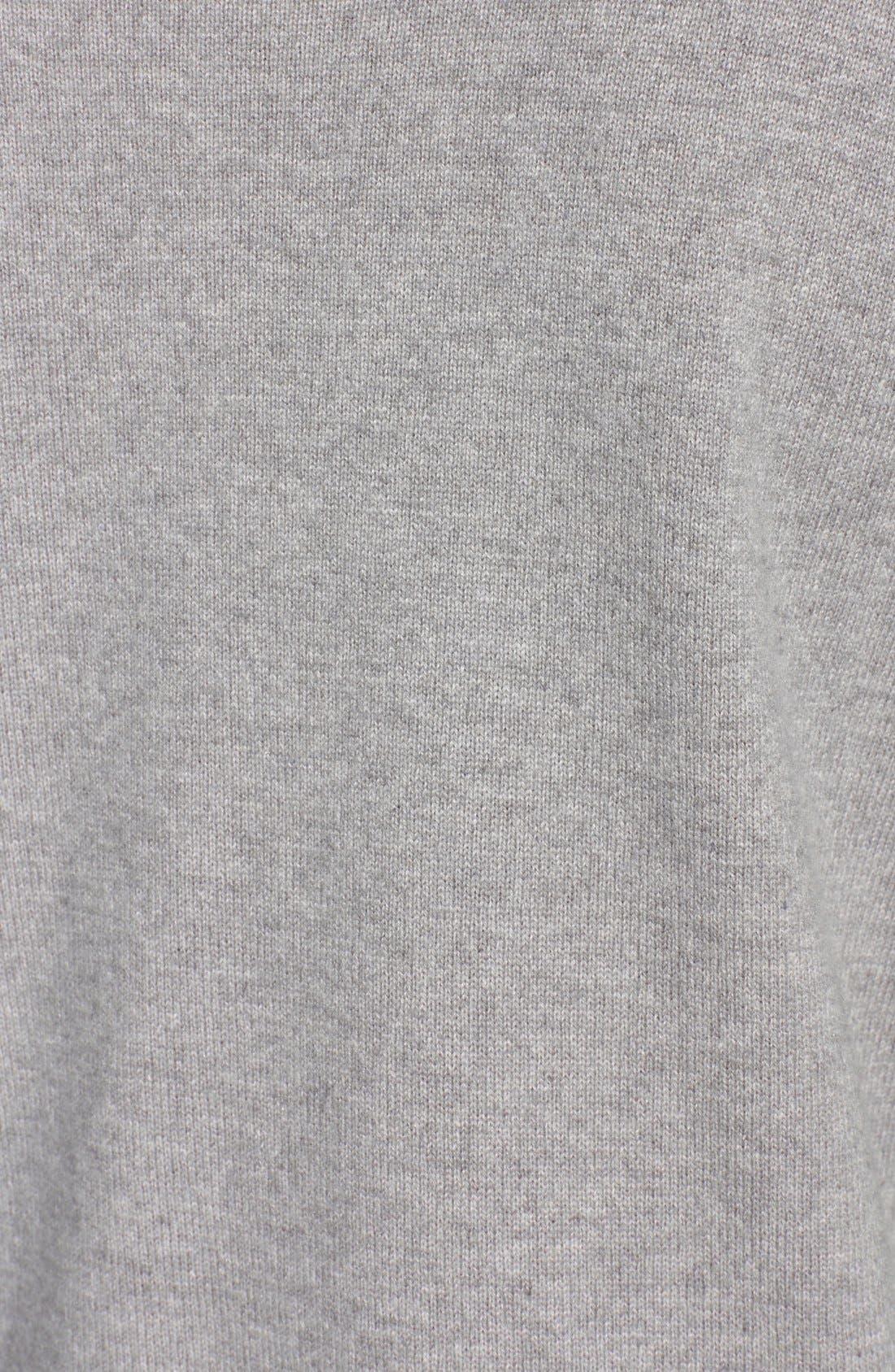 Alternate Image 3  - Fabiana Filippi Suede Contrast Wool Blend Turtleneck Sweater