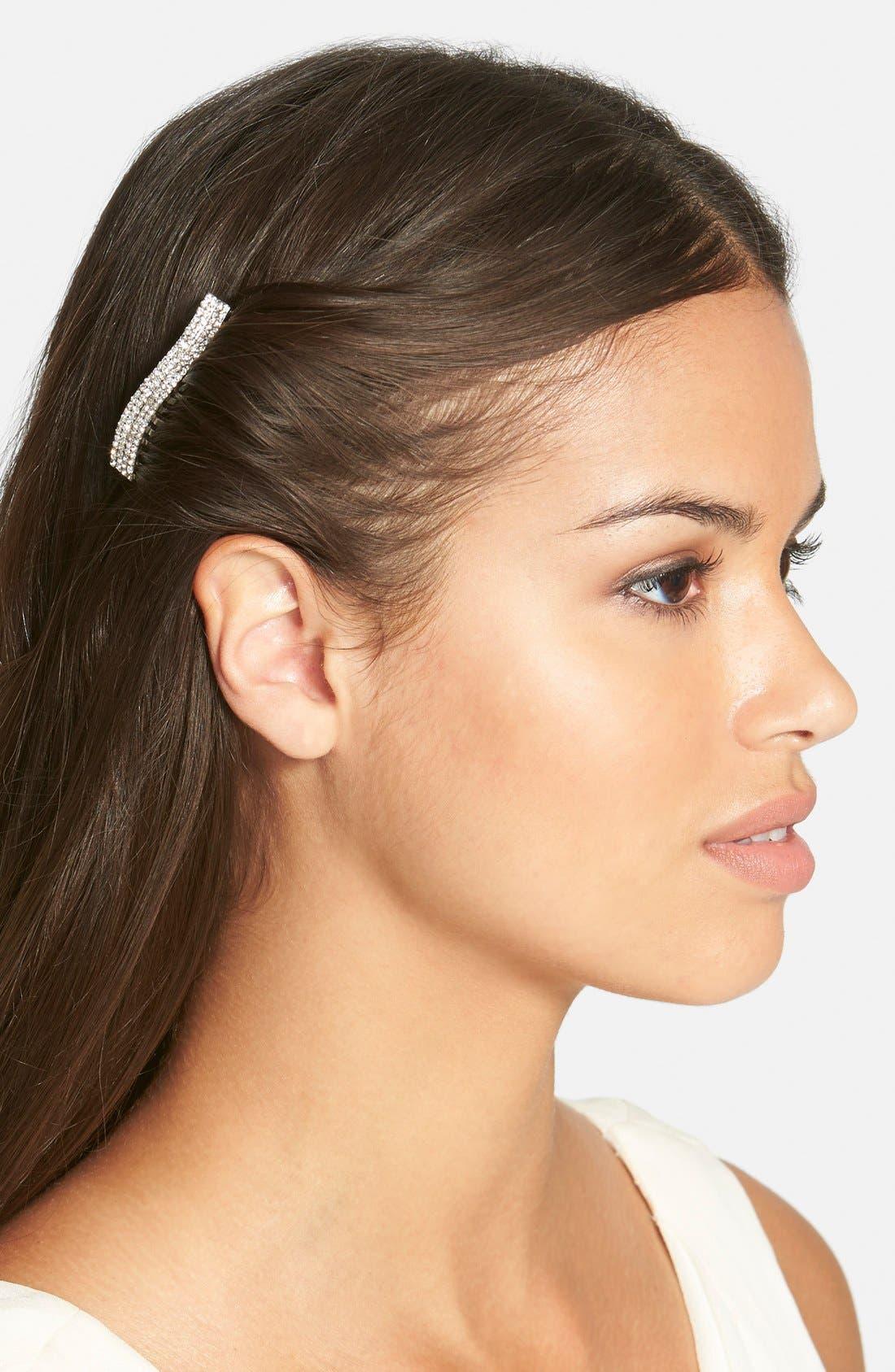 Alternate Image 1 Selected - Tasha 'Simple Crystal' Hair Comb