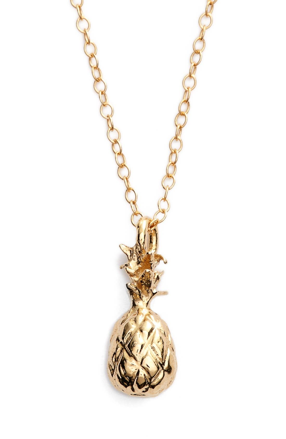 Alternate Image 1 Selected - ki-ele 'Hawaiian Pinya' Pendant Necklace