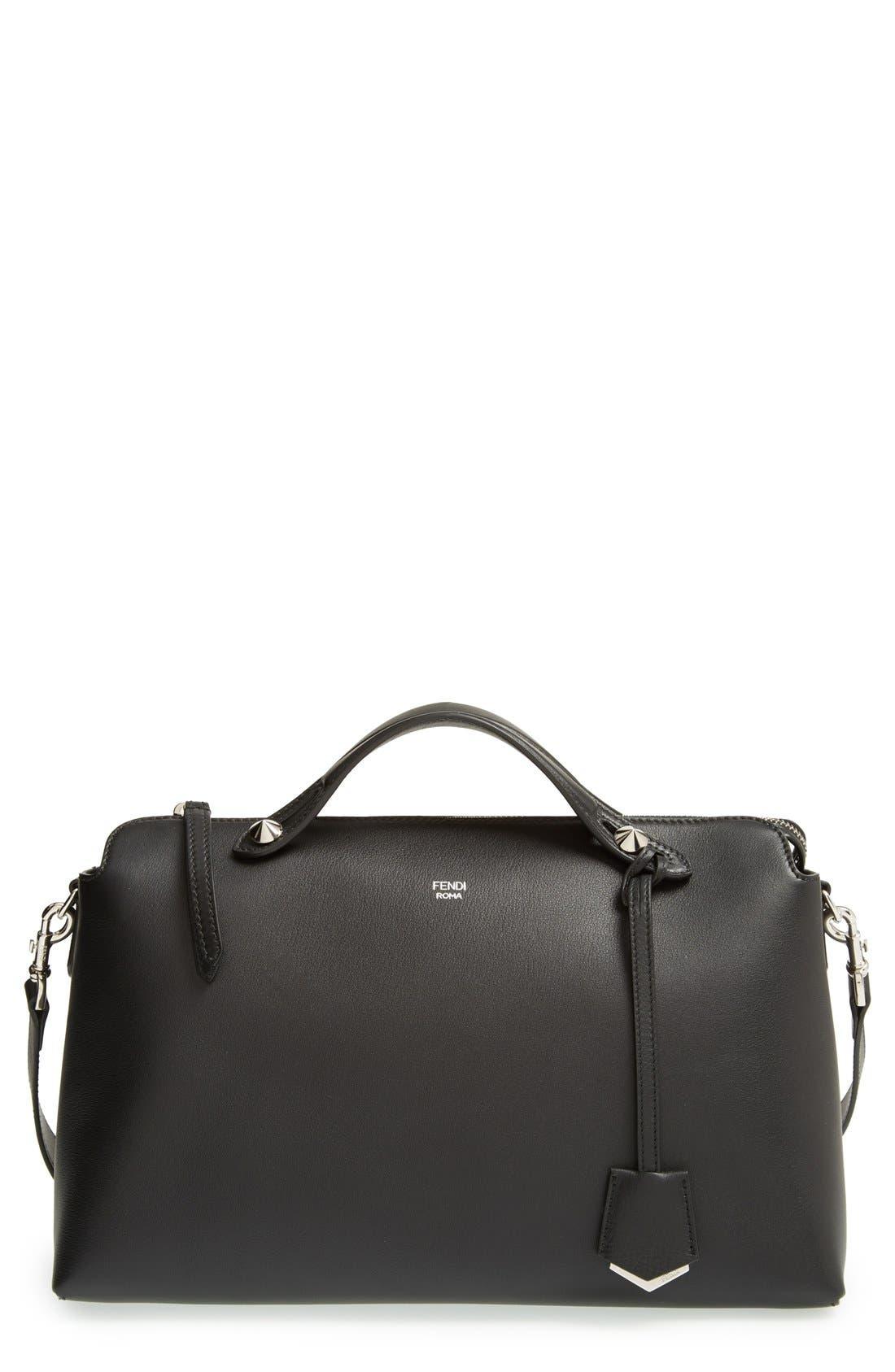 FENDI Large by the Way Leather Shoulder Bag