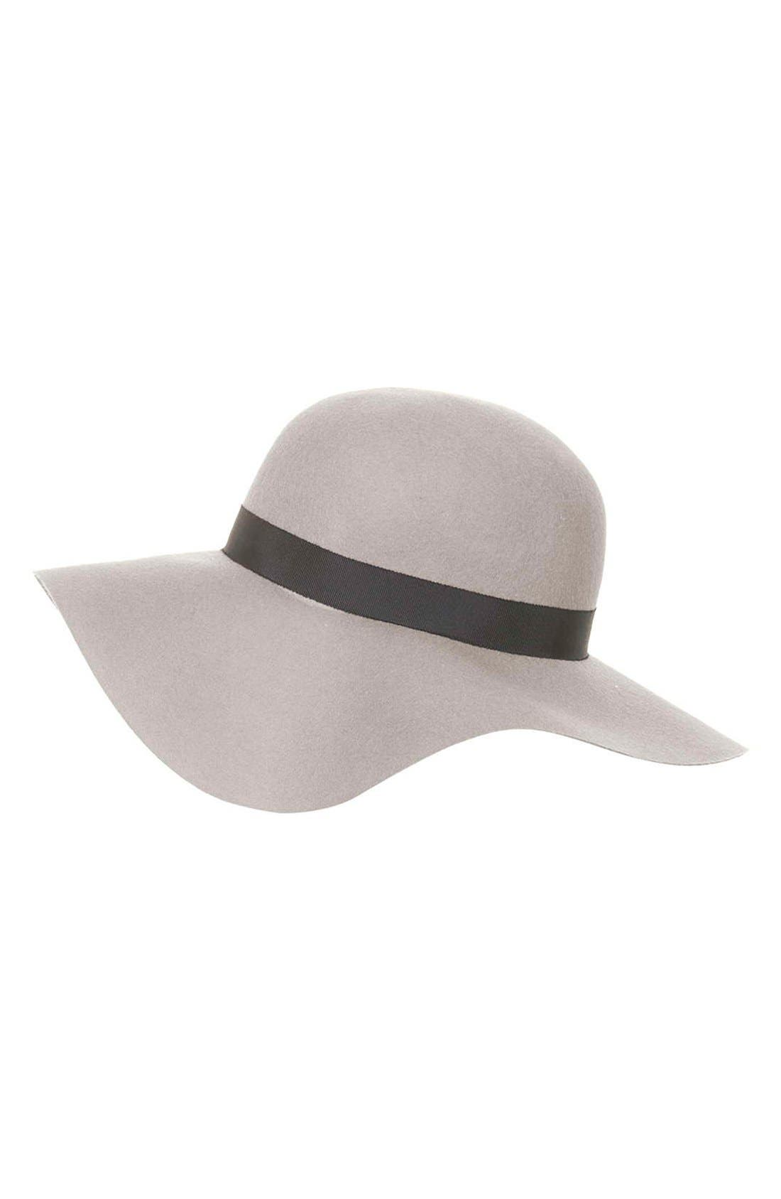 Alternate Image 3  - Topshop Floppy Wool Felt Hat