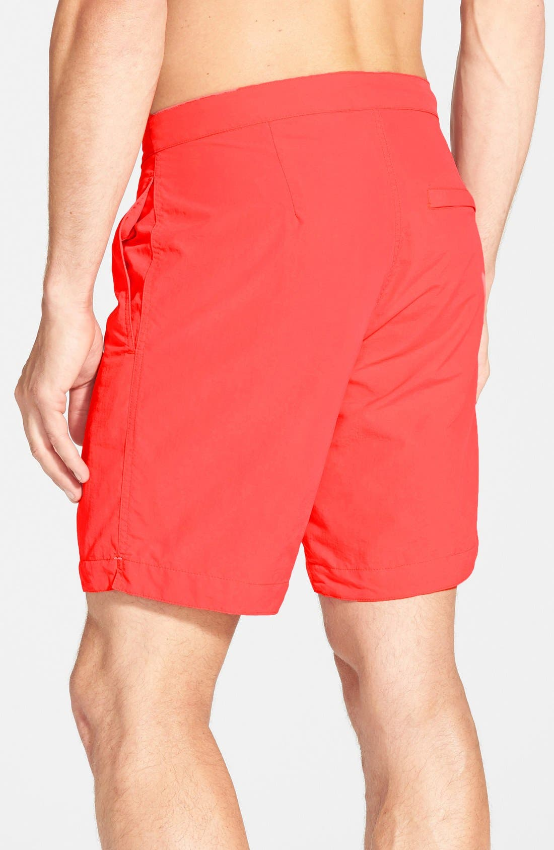 'Aruba - Island' Tailored Fit 8.5 Inch Board Shorts,                             Alternate thumbnail 2, color,                             Island Coral Red