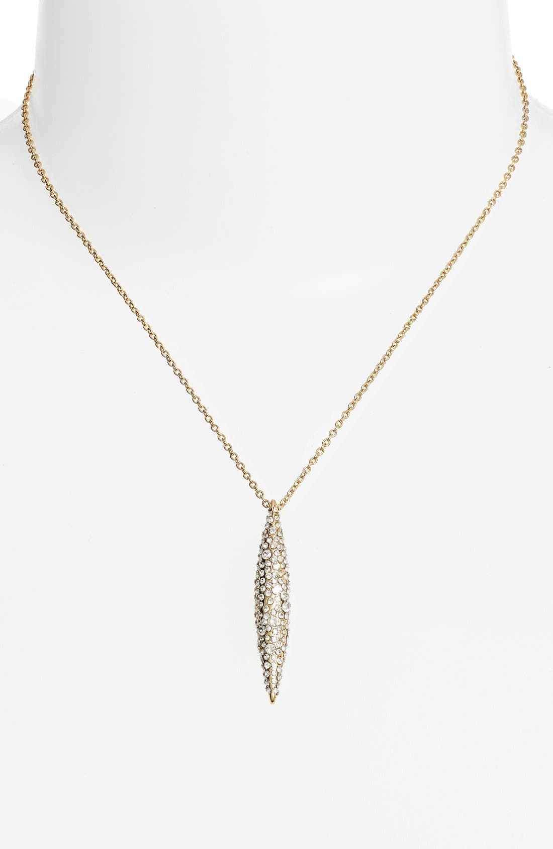Alternate Image 2  - Alexis Bittar 'Miss Havisham' Crystal Encrusted Spear Pendant Necklace