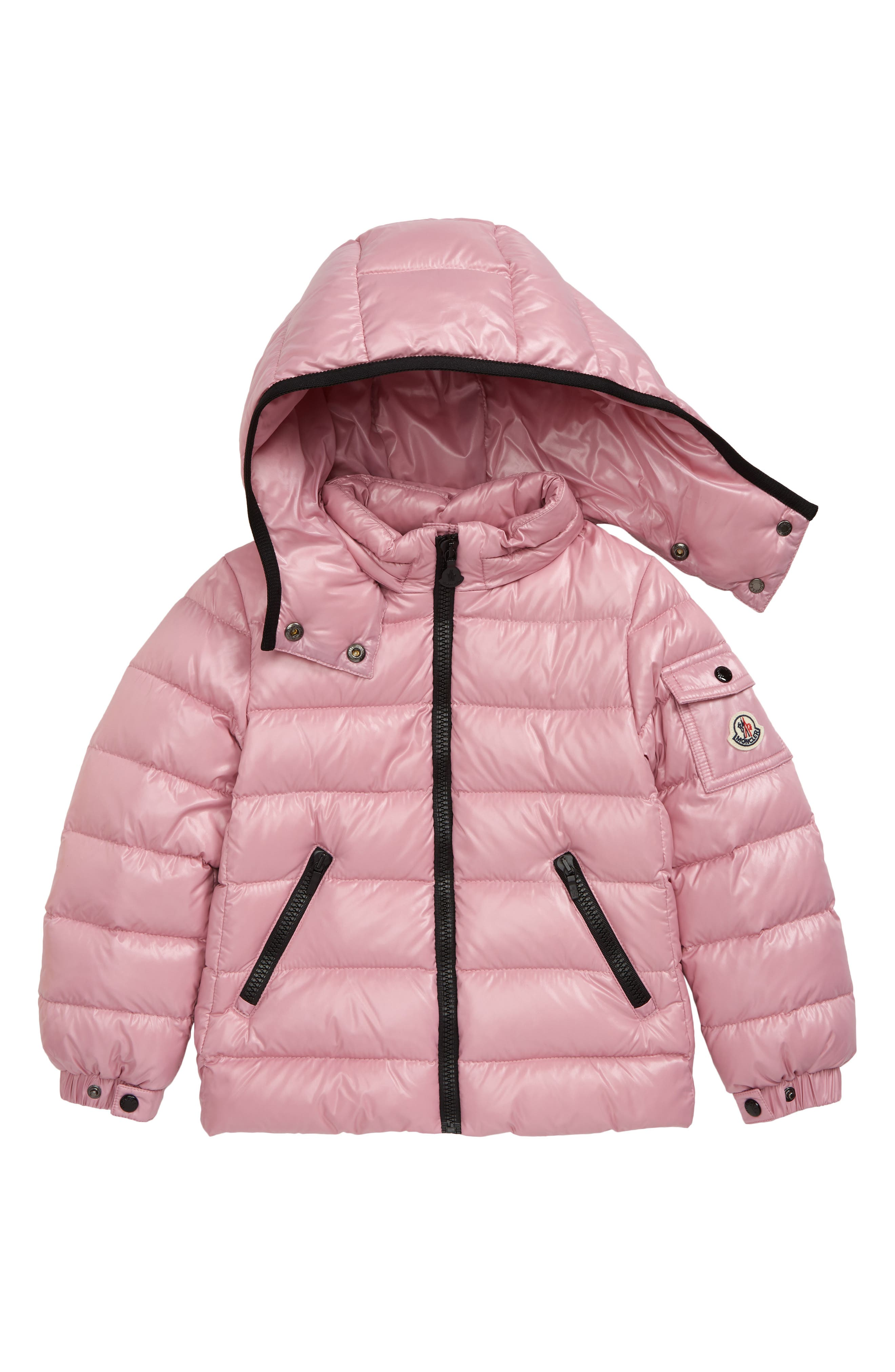 LAUSONS Boys Girls Winter Jacket Padded Down Coat with Faux Fur Hood