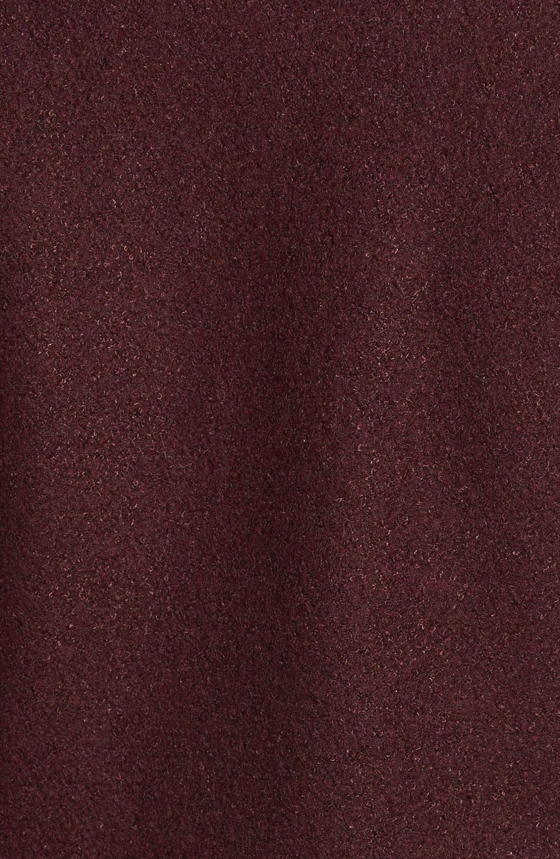 Alternate Image 3  - kensie Shawl Collar Fit & Flare Coat