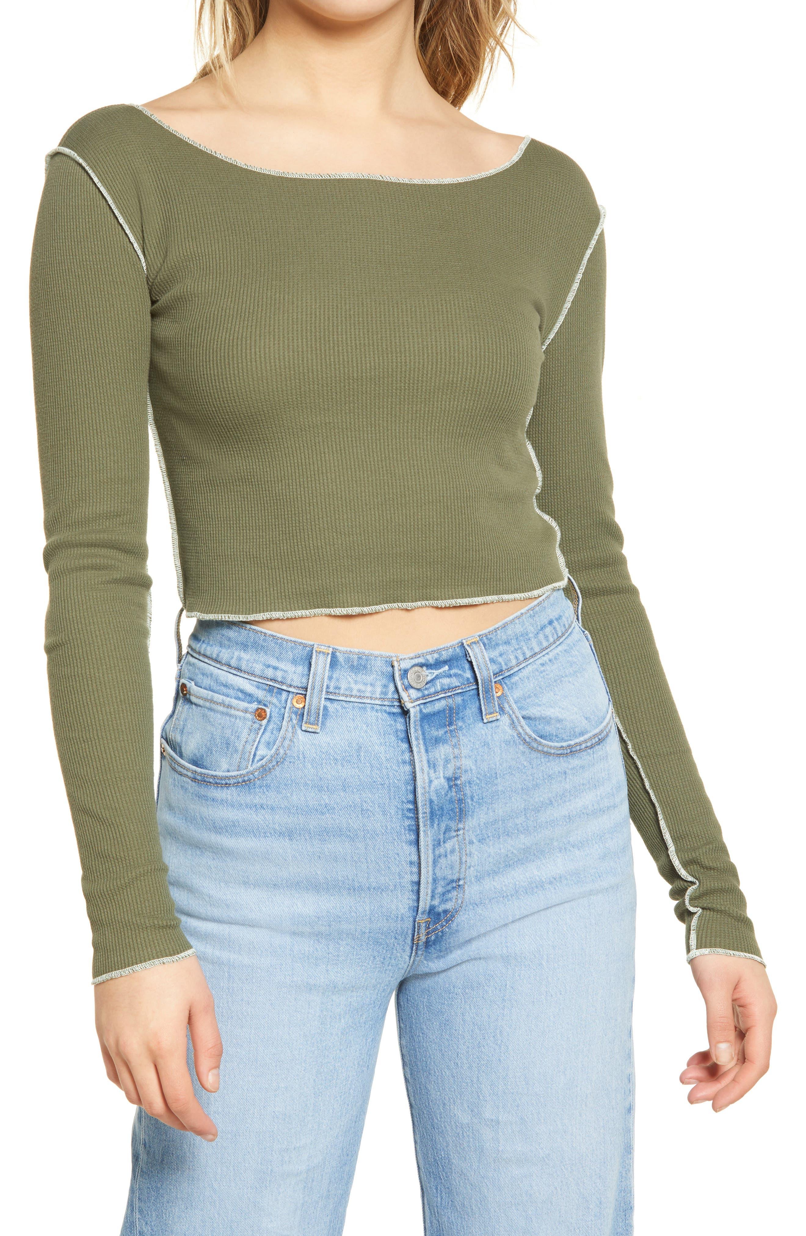 Palm Ladies//Womens Stylish Brushed Side Seam Free Thermal Short Sleeve Vest