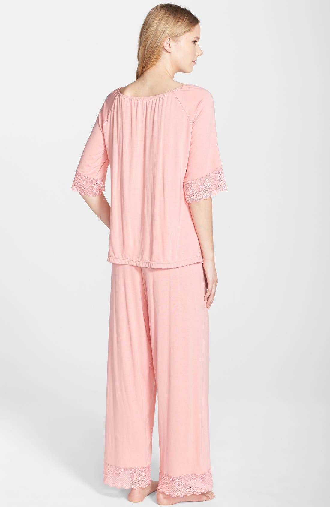 Alternate Image 3  - Belabumbum 'Tallulah' Maternity Tunic & Pants