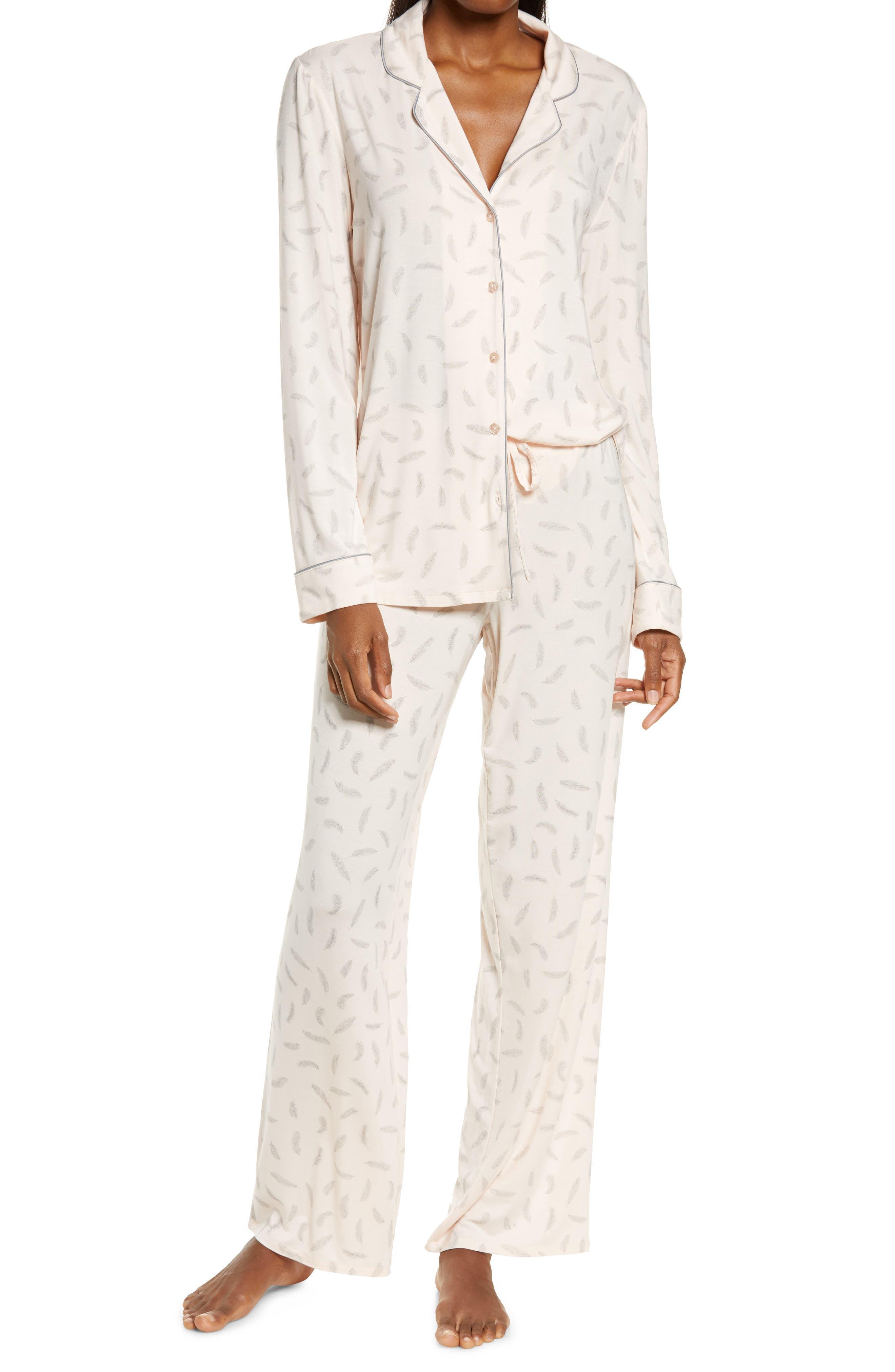 Black dots Sleep Shorts French Cami Knickers Size 10 12 14 16 Womens Cream