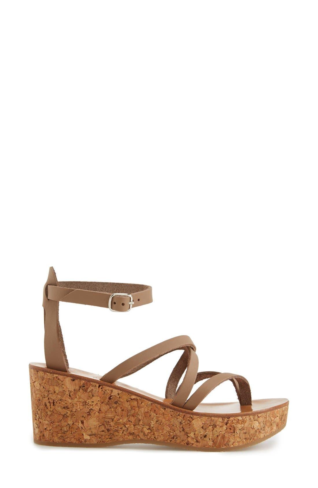 Alternate Image 4  - K.Jacques St. Tropez 'Cunegonde' Wedge Sandal (Women)