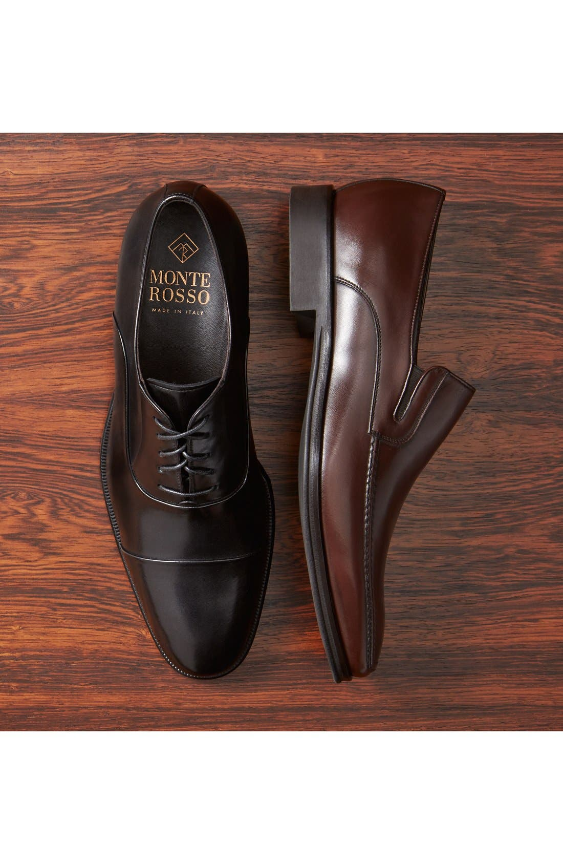 Alternate Image 6  - Monte Rosso Lucca Nappa Leather Loafer (Men)