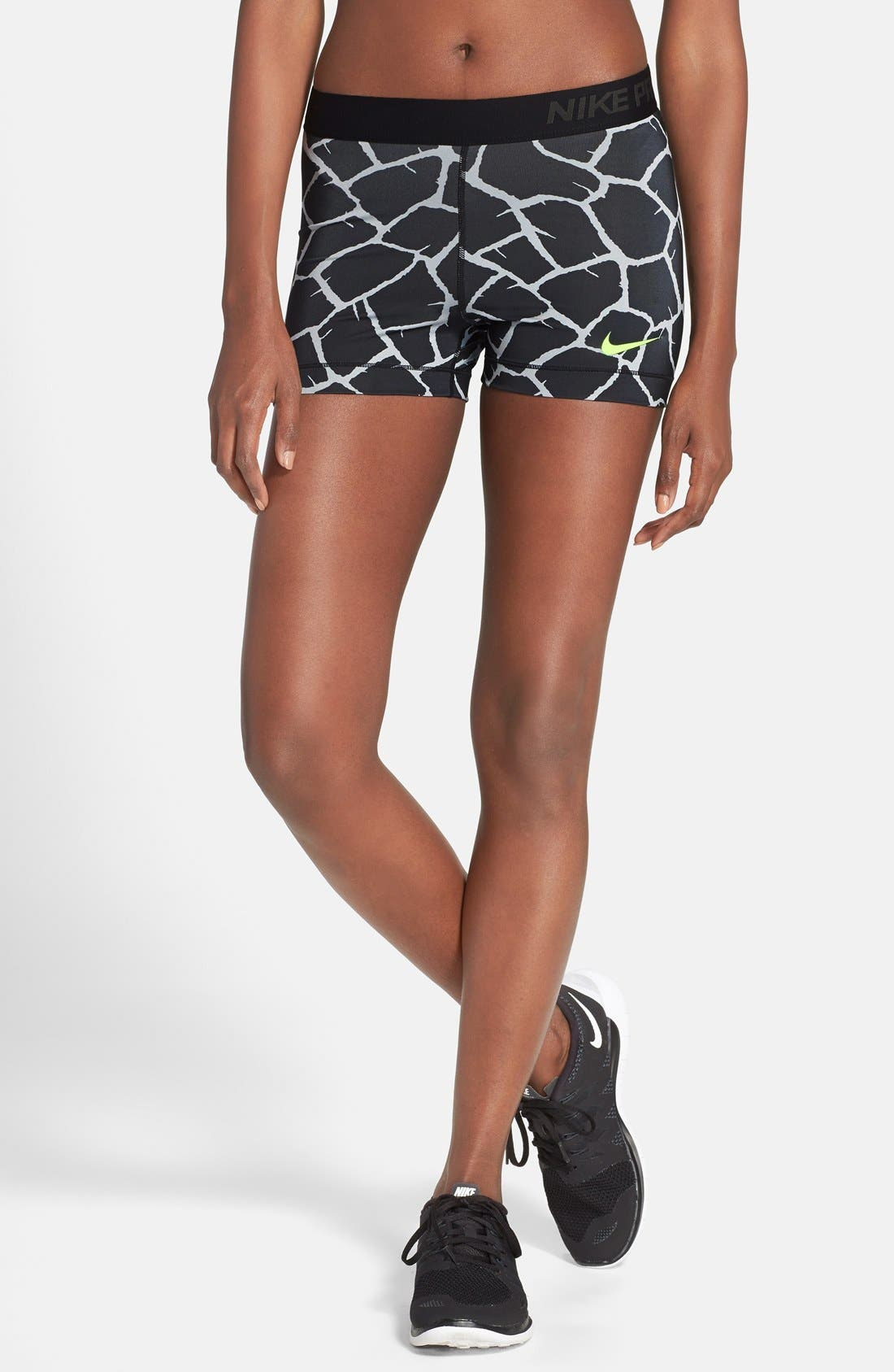 Main Image - Nike 'Pro - Giraffe' Dri-FIT Shorts