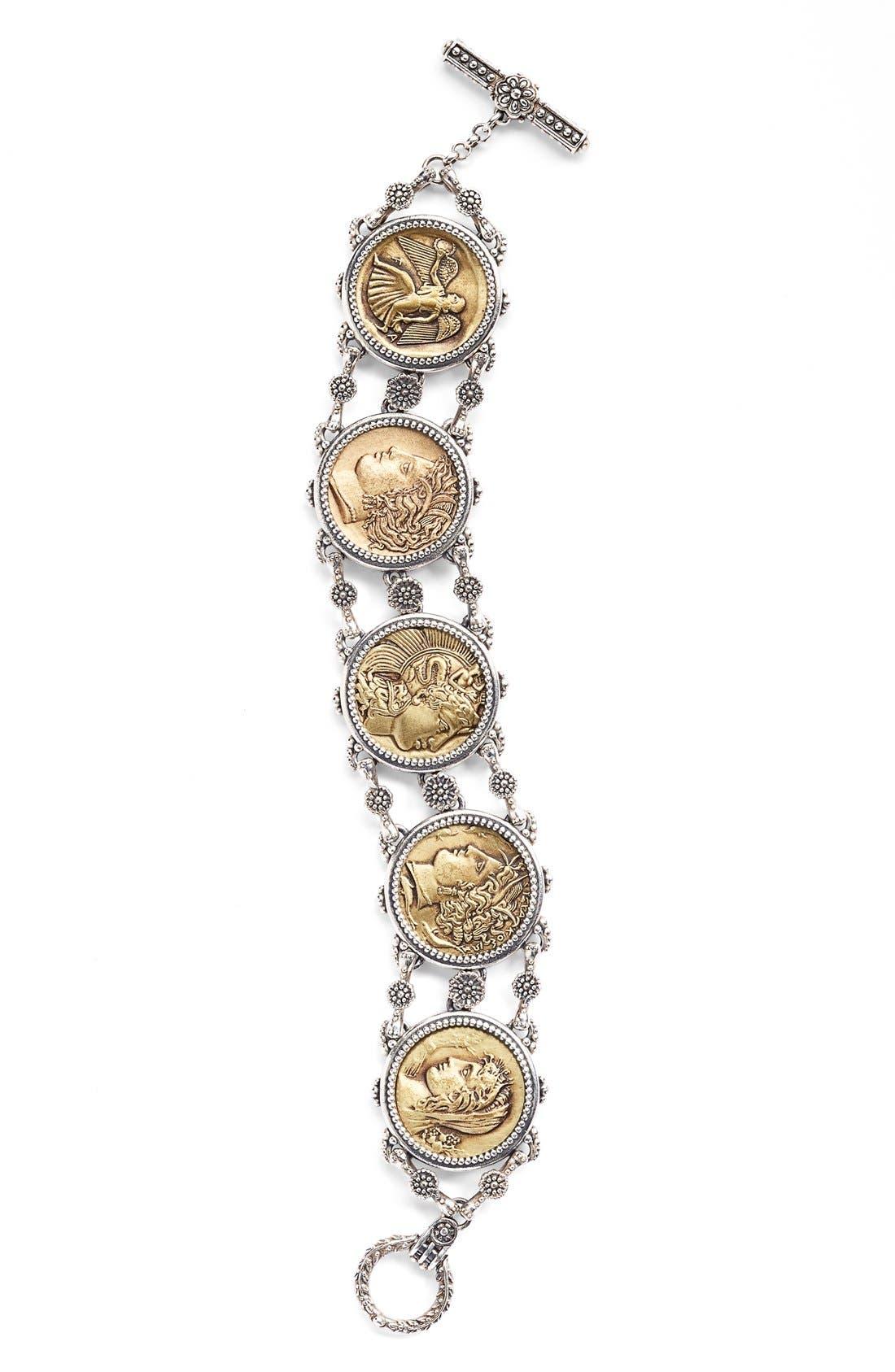 KONSTANTINO Coin Chain Bracelet