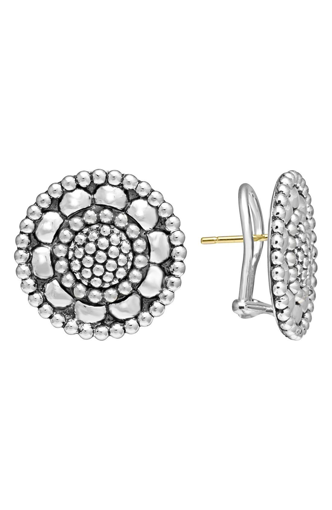Alternate Image 1 Selected - LAGOS 'Voyage' Caviar Stud Earrings