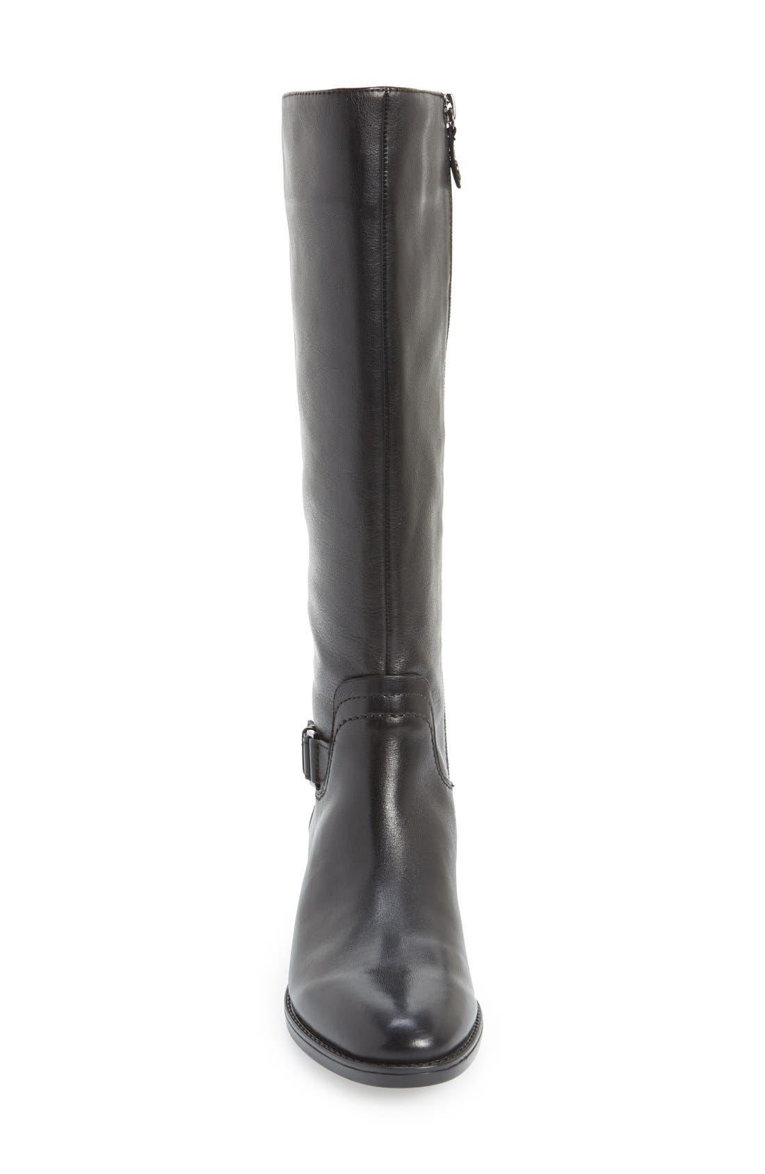 Alternate Image 3  - Geox 'Felicity' Adjustable Shaft Tall Riding Boot (Women)