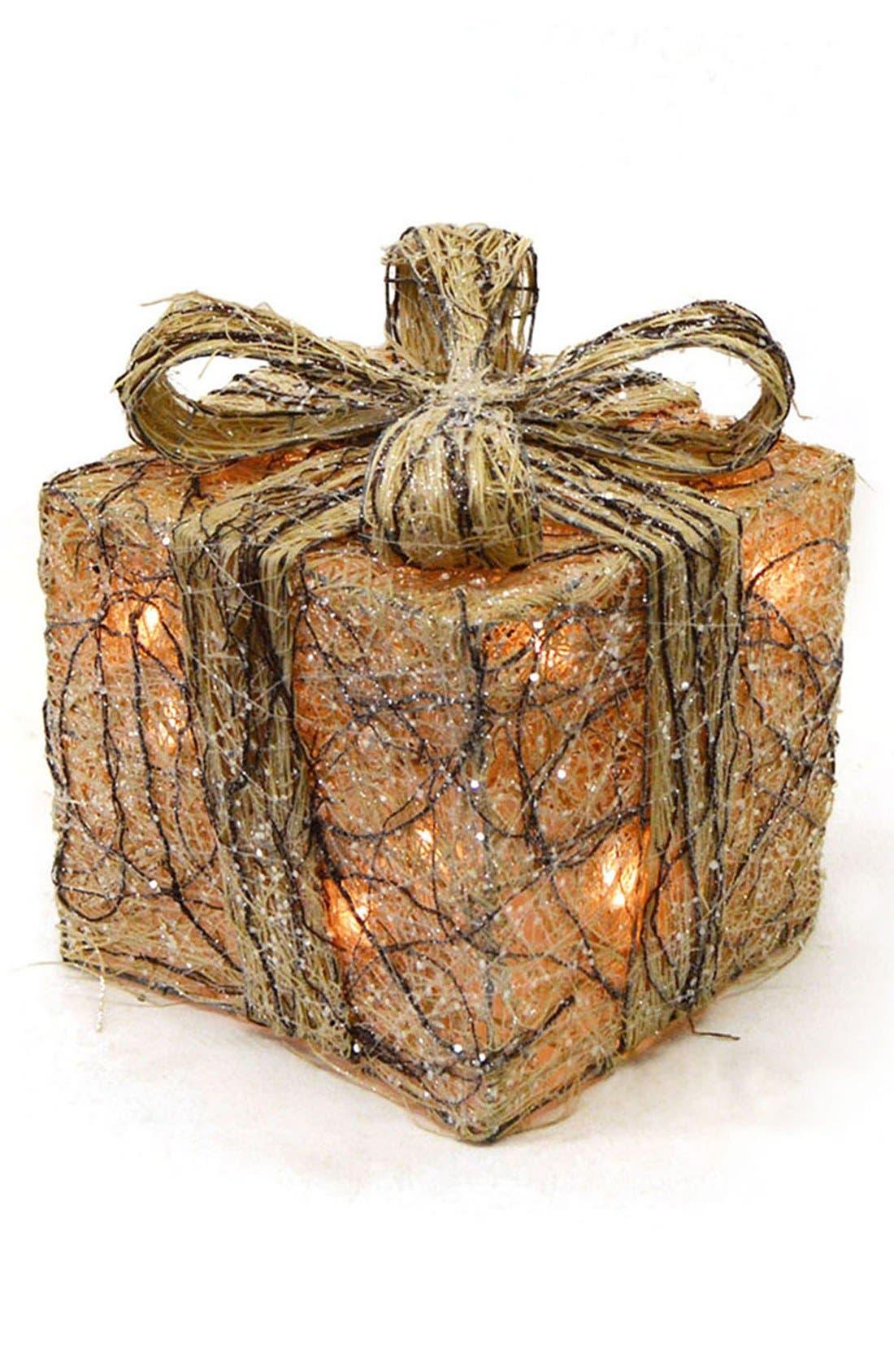 Main Image - Shea's Wildflower Lighted Gift Box