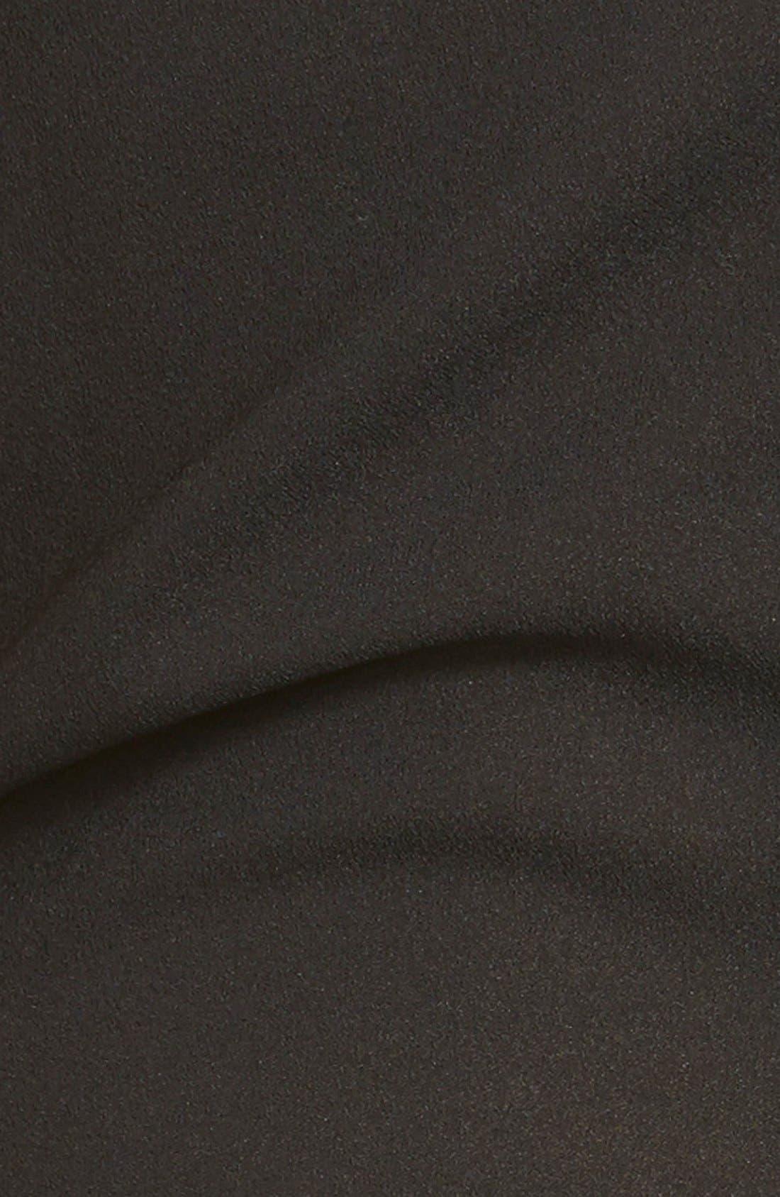 'Bradbury' Sleeveless Jumpsuit,                             Alternate thumbnail 4, color,                             Black