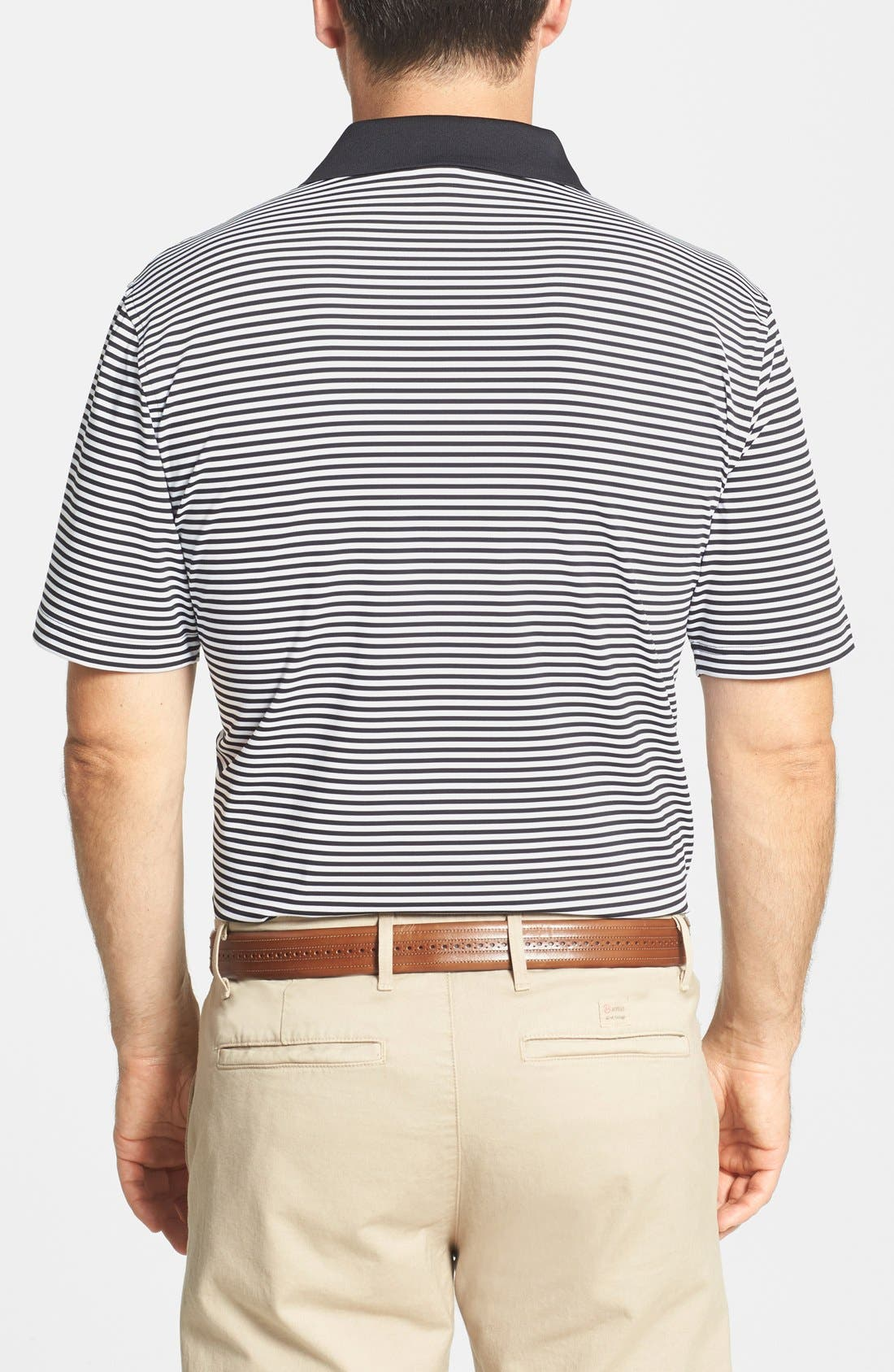 Alternate Image 2  - Peter Millar 'Competition' Stripe Stretch Microfiber Golf Polo