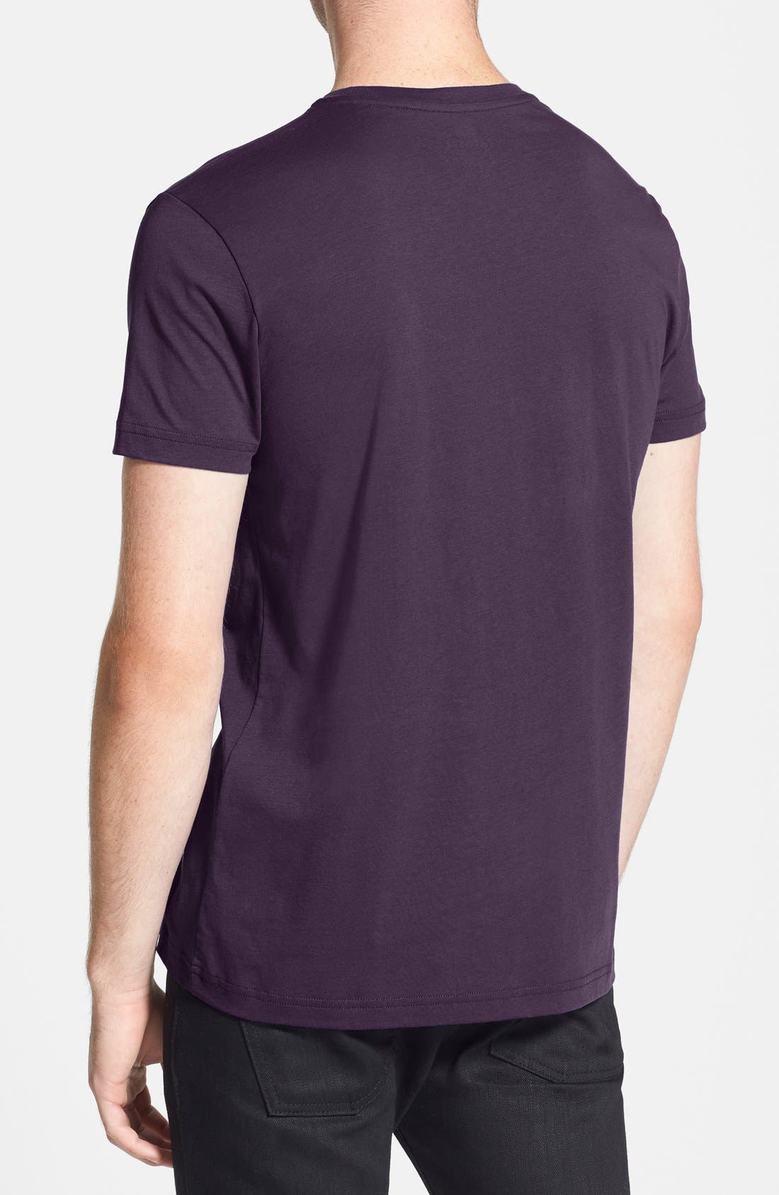 Alternate Image 2  - Lacoste Pima Cotton Crewneck T-Shirt