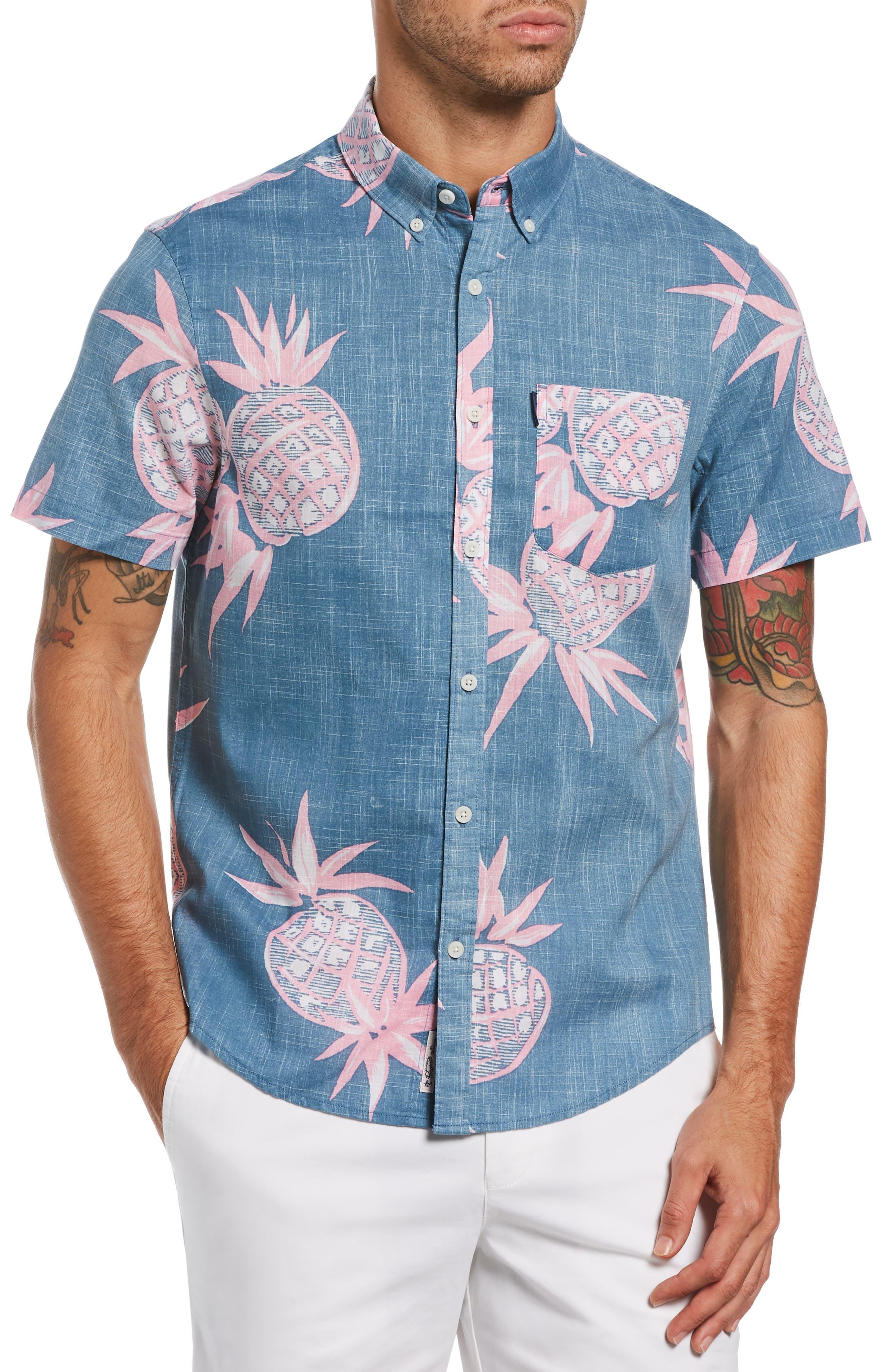 Men's Original Penguin Hawaiian Shirts | Nordstrom