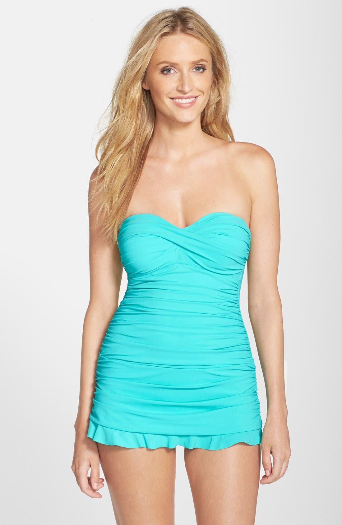 Alternate Image 1 Selected - Profile by Gottex 'Tutti Frutti' Swim Dress