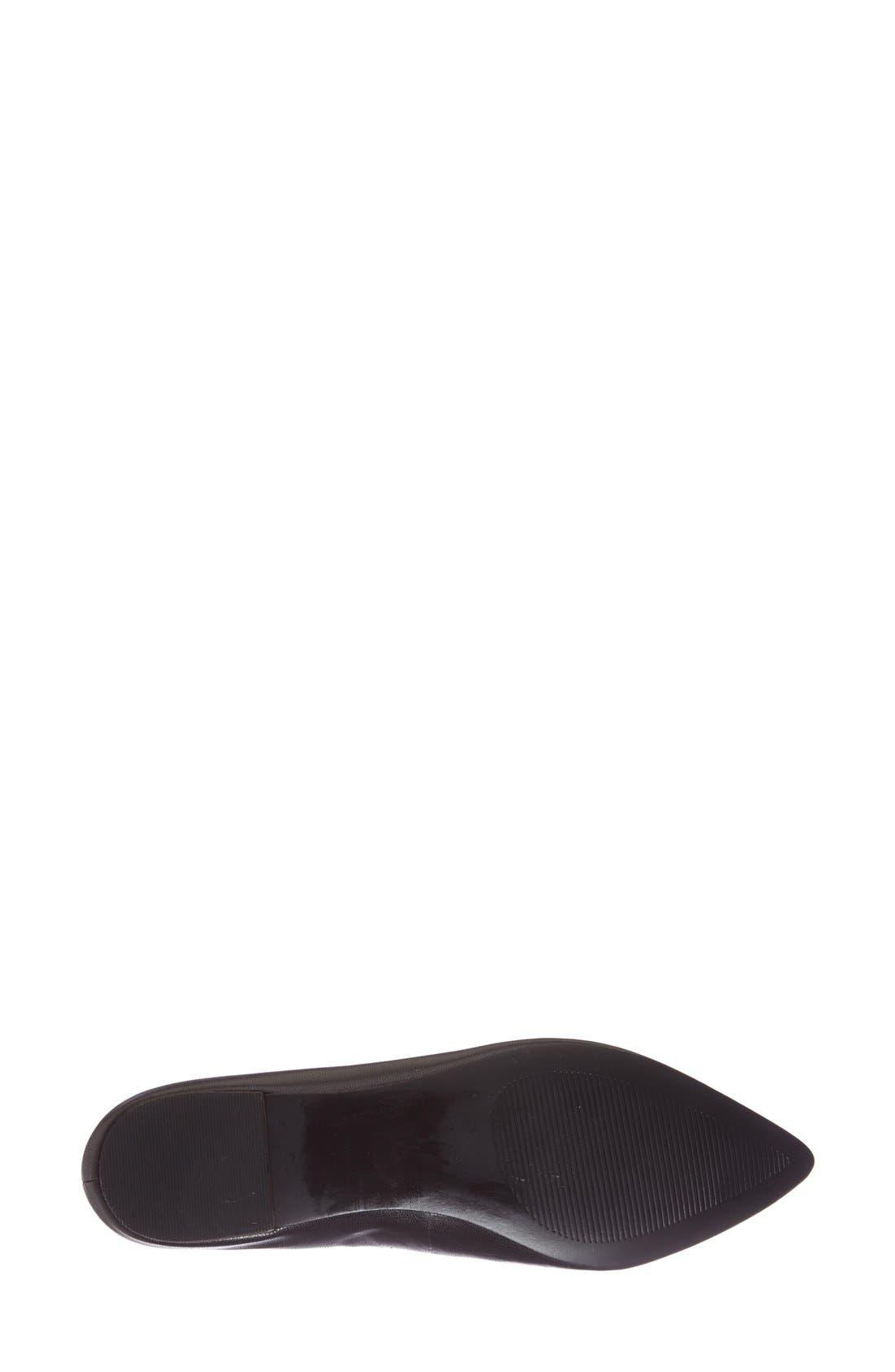 Alternate Image 4  - Sole Society 'Cammila' Pointy Toe Loafer (Women)
